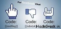 Facebook MidFinger Dislike & Rock Facebook Chat