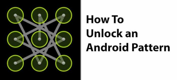 How To Unlock an Android Pattern