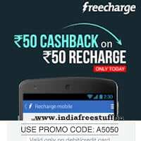 Freecharge Discount Coupons Tricks