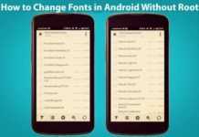 How to Change Fonts in Android Without Root